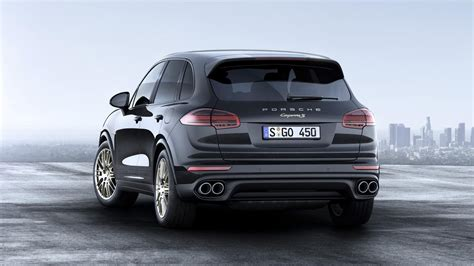 2017 Porsche Cayenne Platinum Edition Is Coming to America
