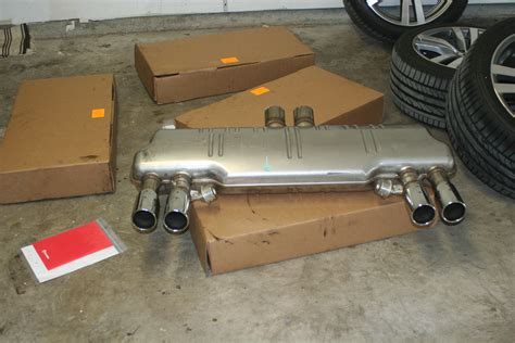 E63 (03-10) For Sale OEM BMW X6M / X5M exhaust system