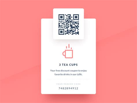 Redeem coupon by Oleg Frolov on Dribbble