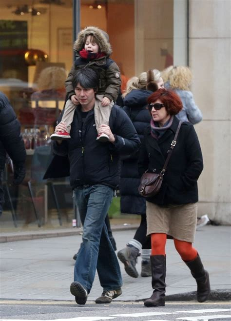 Brian Cox - Brian Cox Spends Time With Family in London
