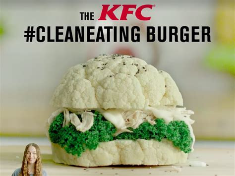 It turns out KFC's 'clean-eating' cauliflower burger was a