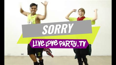 Sorry by Justin Bieber   Zumba with Madelle and Marlex