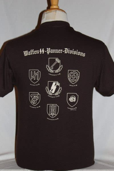 Waffen SS Panzer Division SS Runes T-shirt   The Soldier