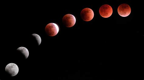 The Rare Deep Red Blood Moon Lunar Eclipse Is the Longest