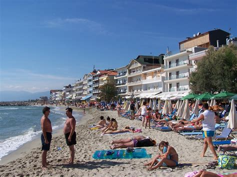 At the Beach 1, Paralia, Greece Photo from Paralia in