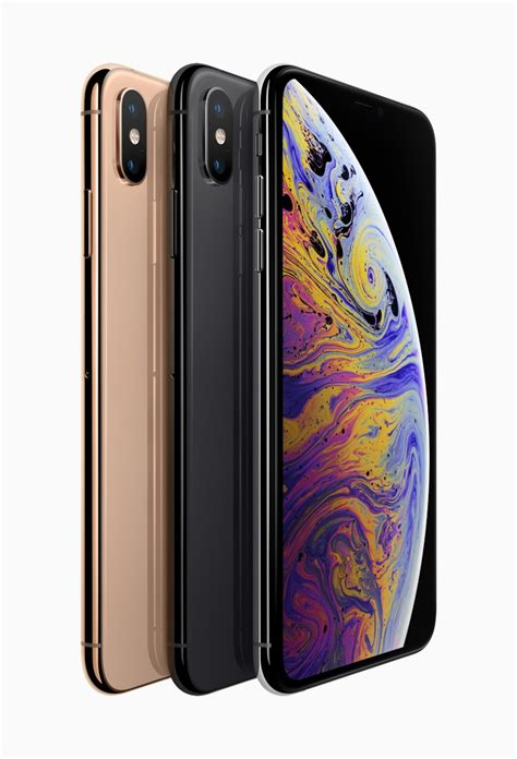 Apple iPhone XS and XS Max With OLED HDR Displays, 12MP