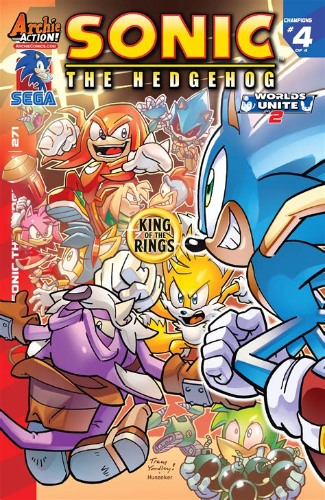 Archie Sonic the Hedgehog Issue 271   Sonic News Network