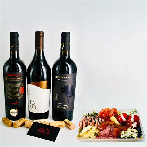 Charcuterie, Cheese & Wine Delivery - Abel's Wine Bar