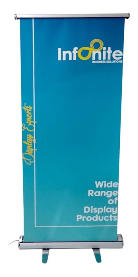 Banner Roll Screen Up Con Impresion 120x2 Mts Oferta!! - S
